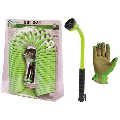4-Piece Bloom Watering Kit in Green