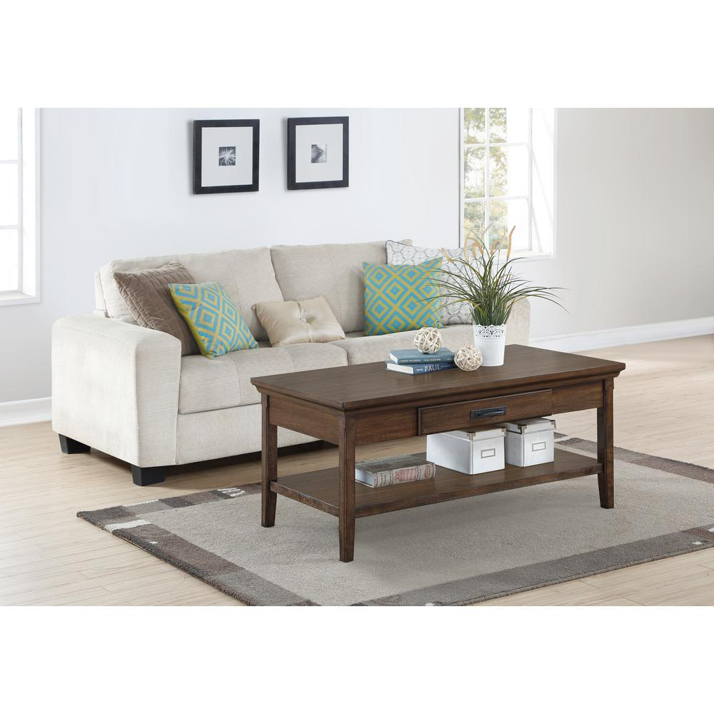 Foremost rockwell distressed wheat coffee table rct 04222 for Foremost homes