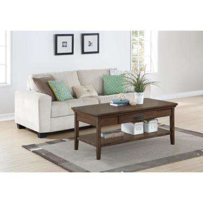 Foremost Rockwell Distressed Wheat Coffee Table