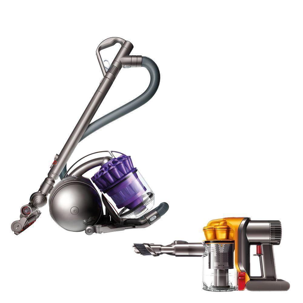 Dyson DC39 Animal Canister Vacuum with DC34 Handheld Vacuum