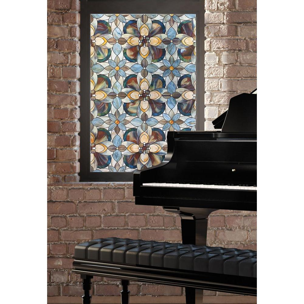 Artscape 24 In X 36 In Quatrefoil Decorative Window Film