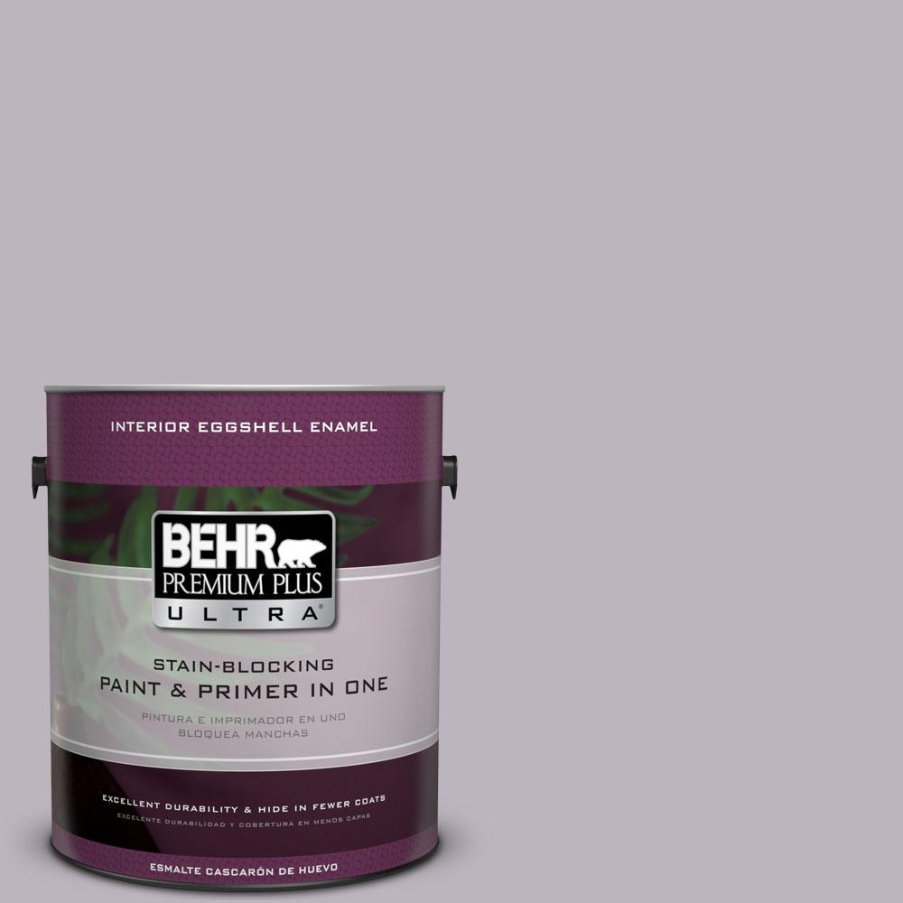 BEHR Premium Plus Ultra 1-gal. #N100-3 Future Vision Eggshell Enamel Interior Paint