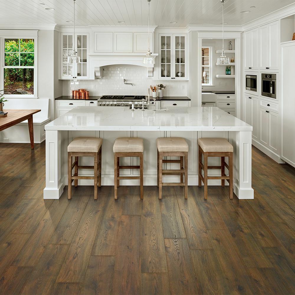 Outlast+ Waterproof Chestnut Beluga Oak 10 mm T x 7.48 in. W x 47.24 in. L Laminate Flooring (19.63 sq. ft. / case)