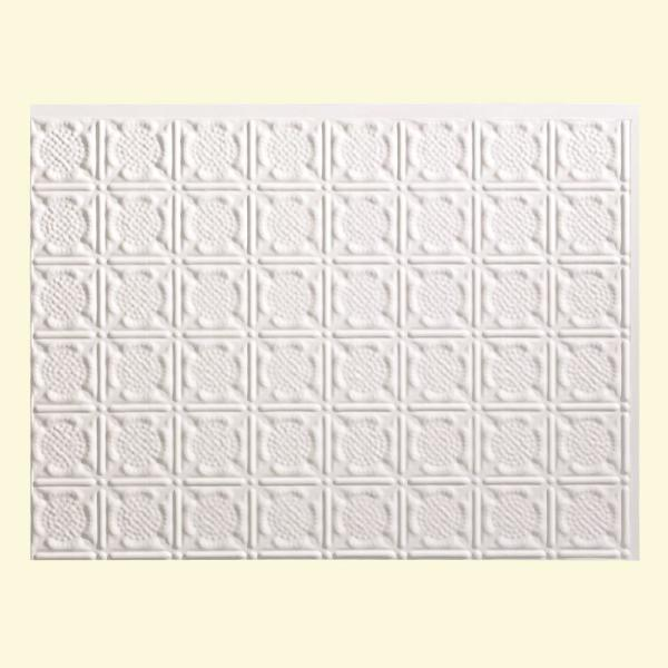Fasade 19 in. x 24 in. Traditional Style # 6 PVC
