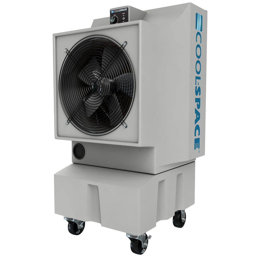 GLACIER-18 2825 CFM 12-Speed Portable Evaporative Cooler for 1200 sq. ft.