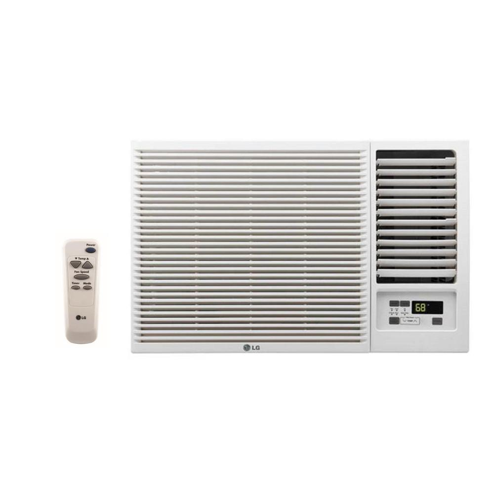 12,000 BTU 230/208-Volt Window Air Conditioner with Cool, Heat and Remote LG Electronics