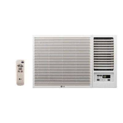 12,000 BTU 230-Volt Window Air Conditioner with Heat