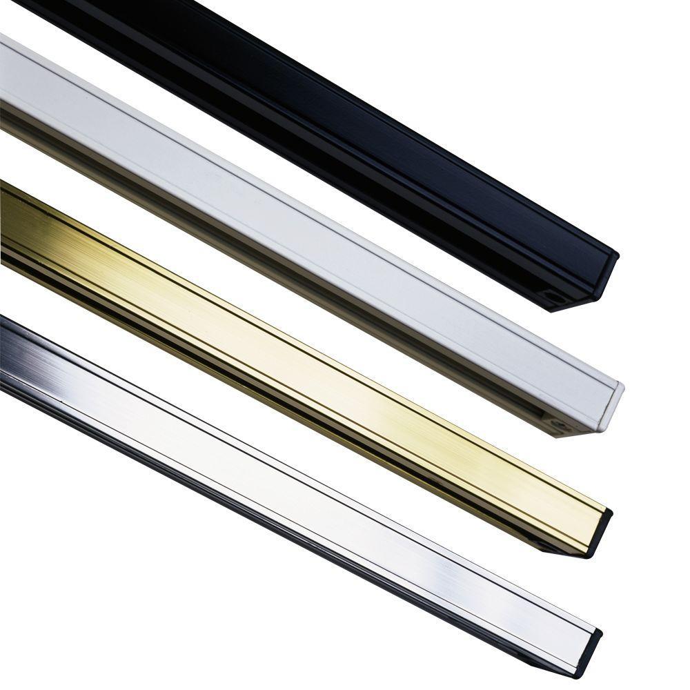 PLC Lighting 48 In. Black Extension Rod-CLI-HDTR48PBK
