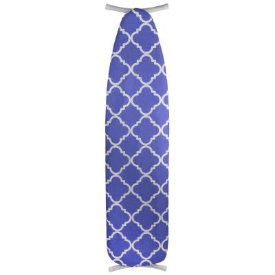 Lovely Lattice Cotton Ironing Board Cover, Navy