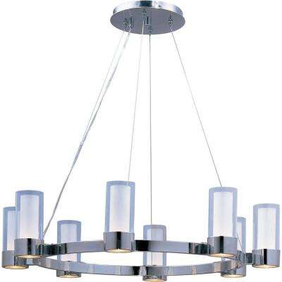 Silo 8-Light Polished Chrome Chandelier