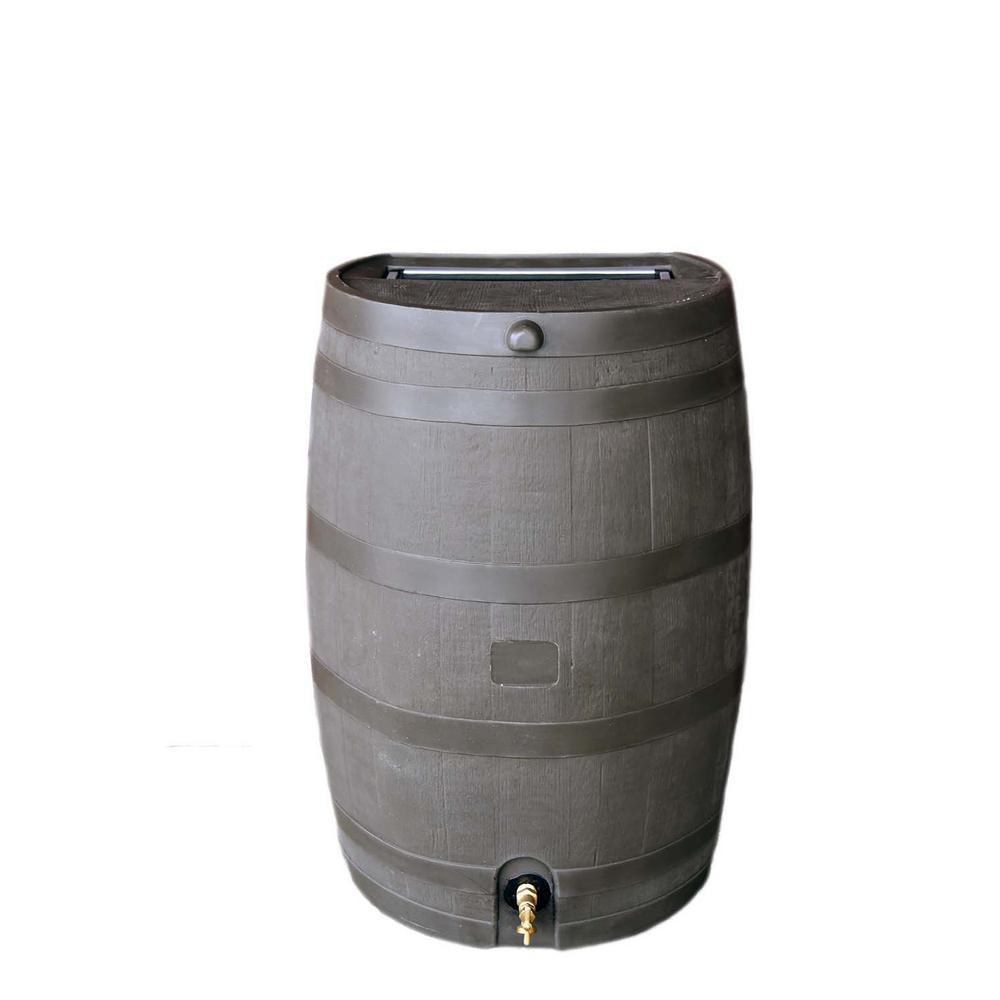 50 Gal. Rain Barrel with Brass Spigot