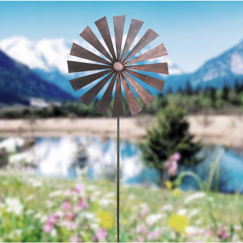 Brown Disk Spinner