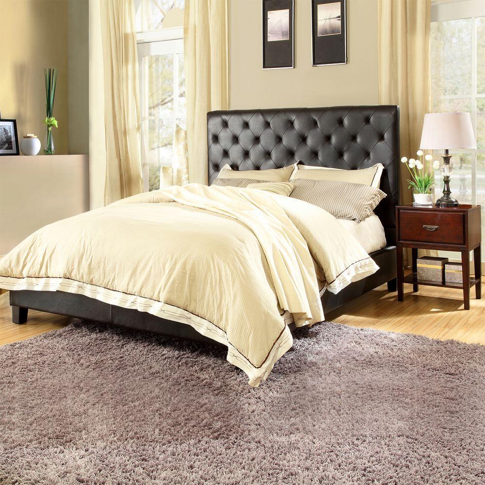 Toulouse 3-Piece Deep Brown Queen Bedroom Set