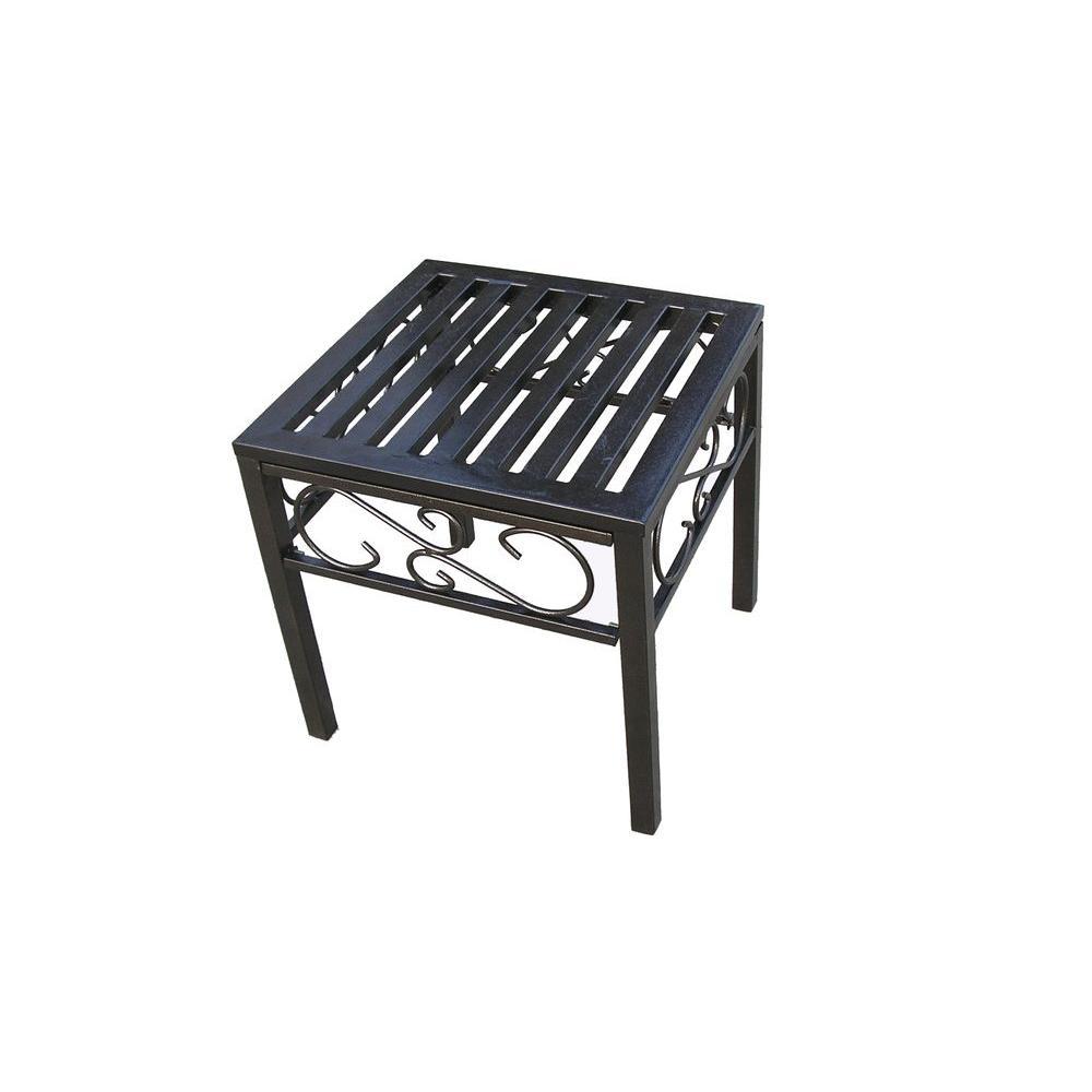 Oakland Living Rochester End Patio Table