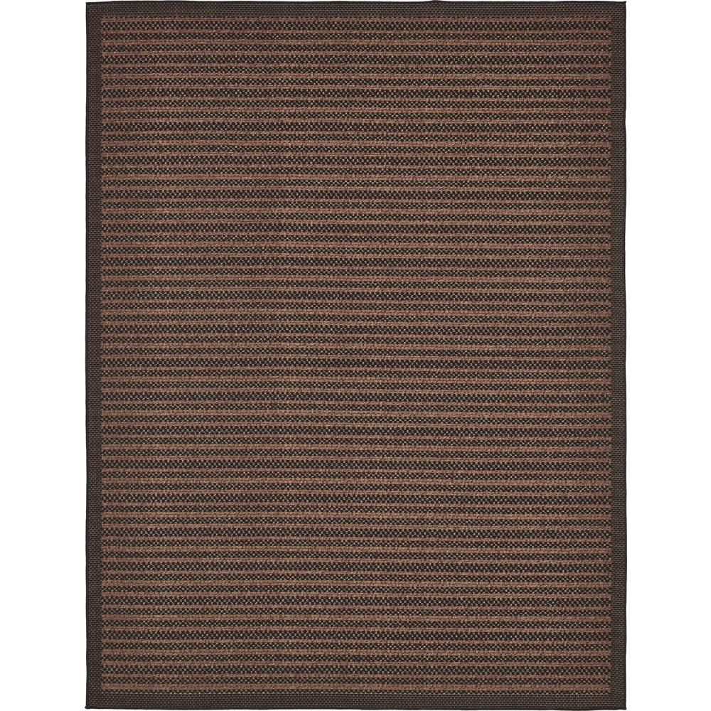 Checkered Outdoor Rug: Unique Loom Outdoor Checkered Black 9' 0 X 12' 0 Area Rug