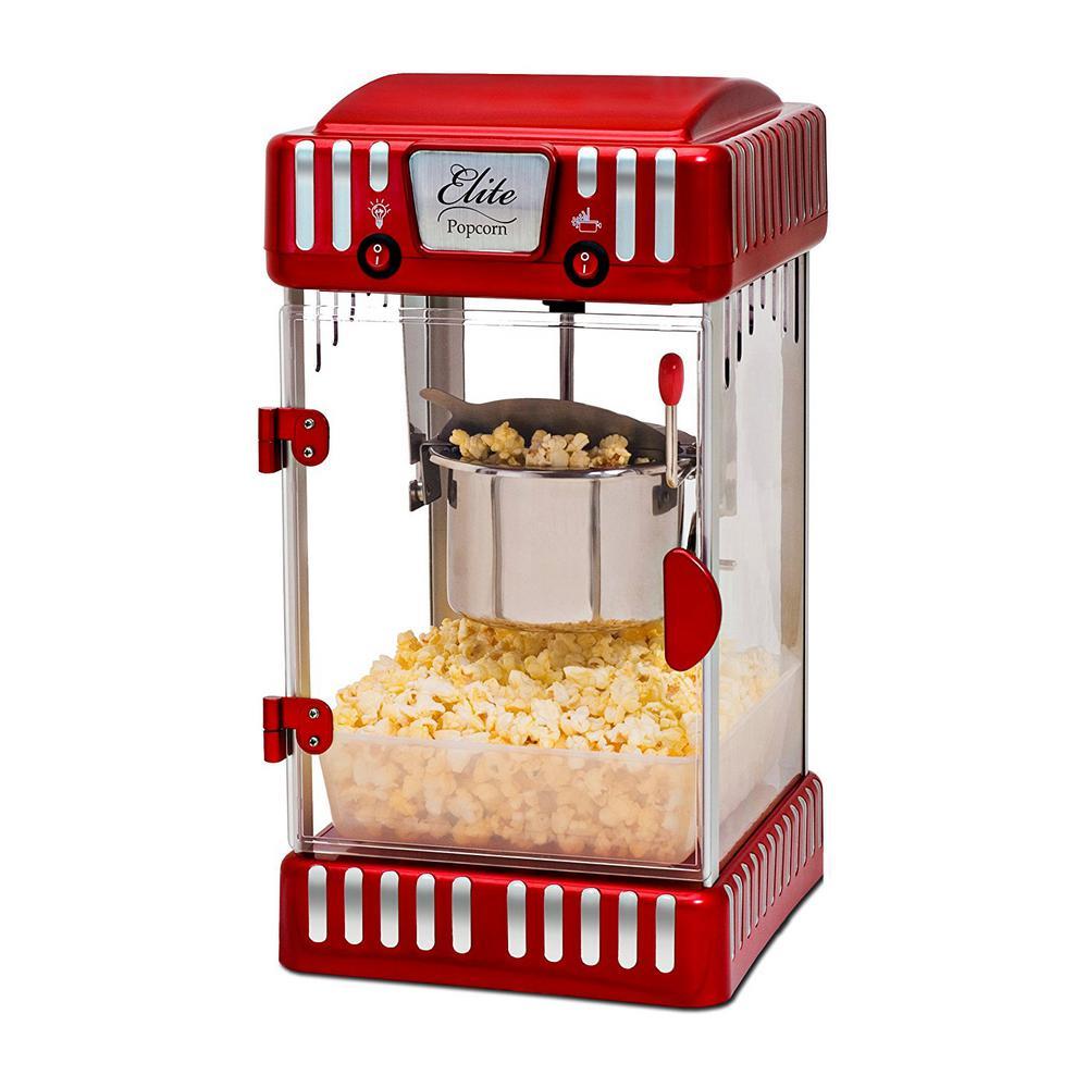 Tabletop Kettle Popcorn Popper Machine