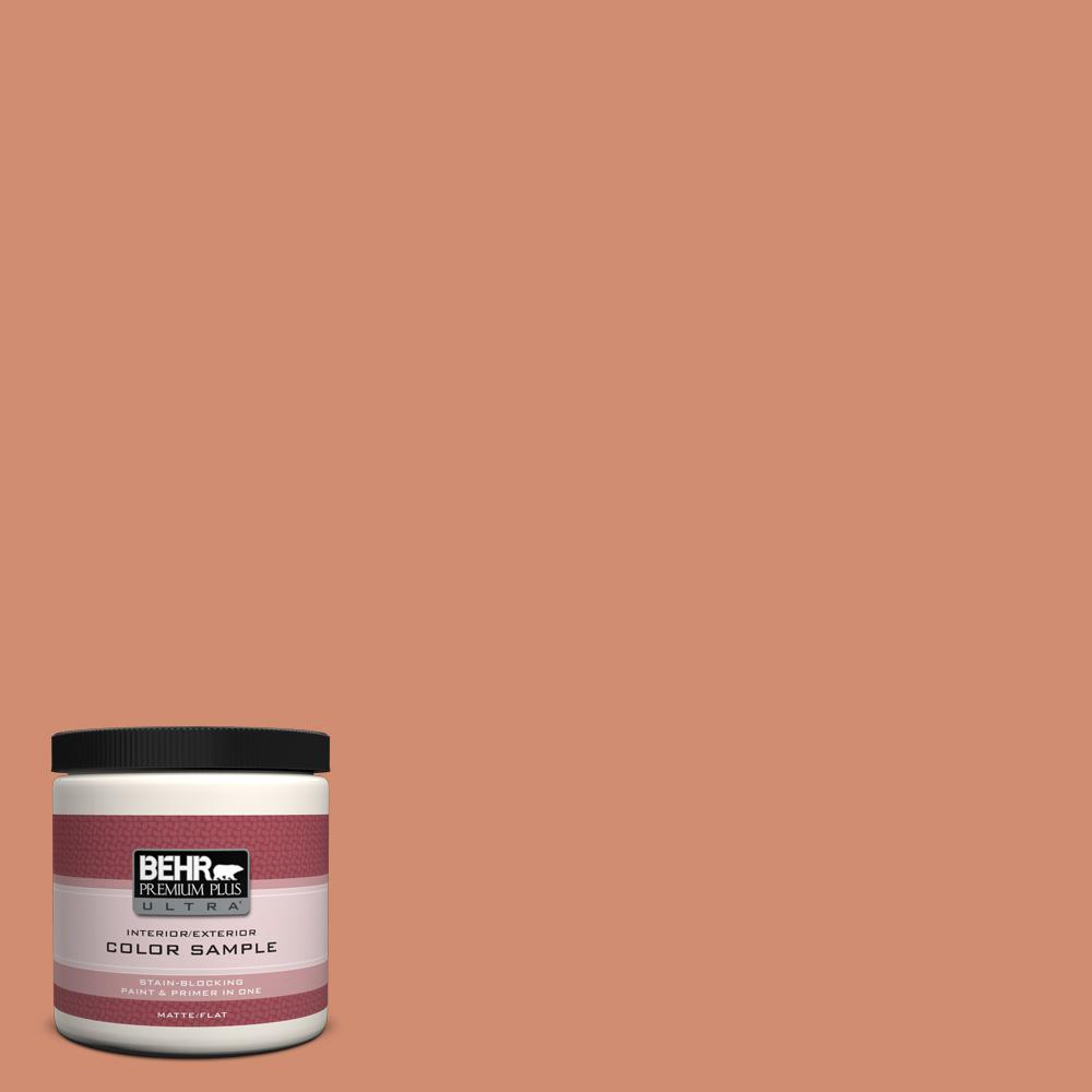 8 oz. #ICC-63 Terra Cotta Pot Interior/Exterior Paint Sample
