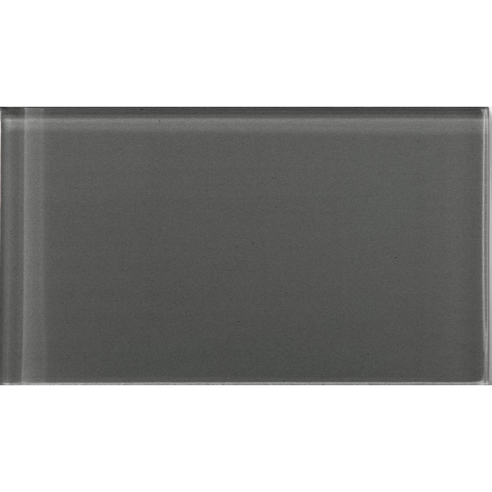 lucente lighting. Emser Lucente Pewter 3.15 In. X 6.46 Glass Wall Tile Lighting