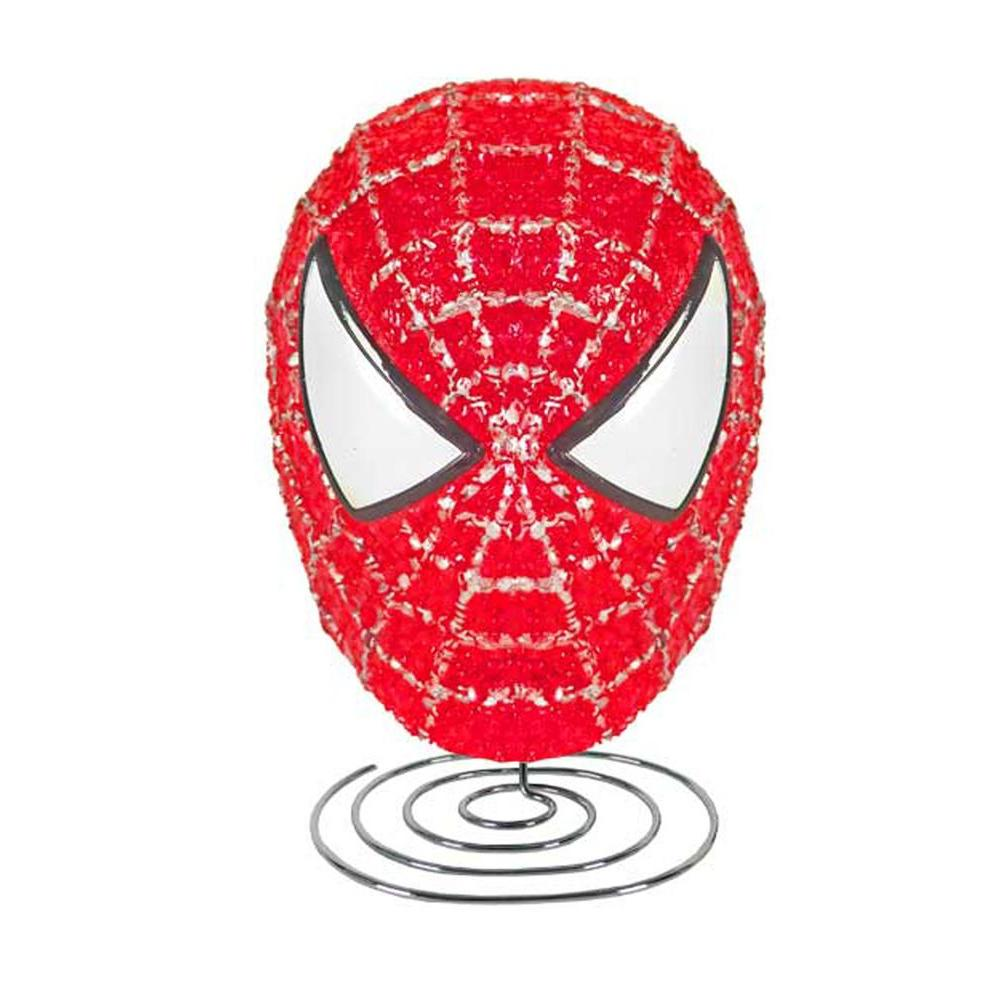 Marvel 8 in. Spiderman Figural EVA Accent Lamp-DISCONTINUED