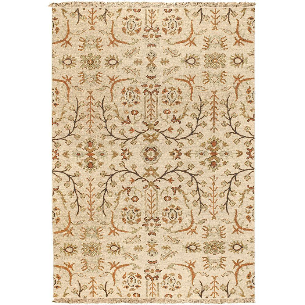 Artistic Weavers Hatch Cream 4 ft. x 6 ft. Area Rug