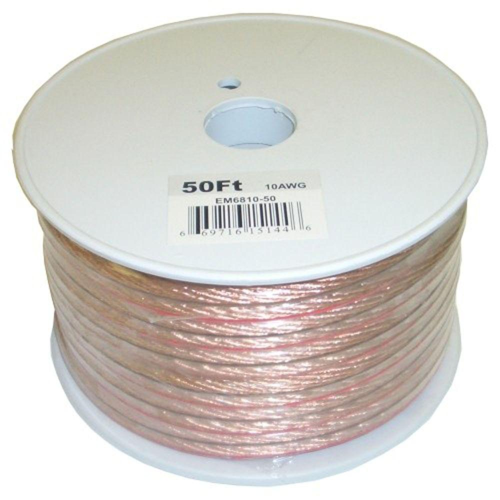 Electronic Master 50 ft. 10-2 Stranded Speaker Wire-EM681050 - The ...