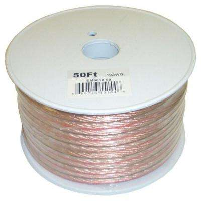 Electronic Master 50 ft. 10-2 Stranded Speaker Wire