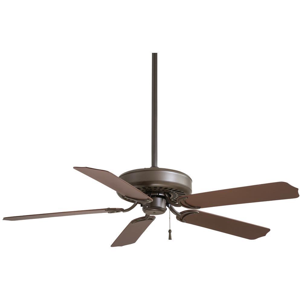 Sundance 52 in. Indoor/Outdoor Oil Rubbed Bronze Ceiling Fan