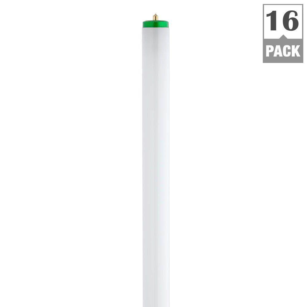 Philips 8 Ft T12 75 Watt Natural Supreme Linear Fluorescent Light Bulb 16 Pack 423987 The