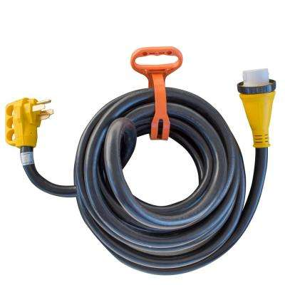30 ft. 125-Volt to 250-Volt 50 Amp Marine Type Pigtail Extension Cord
