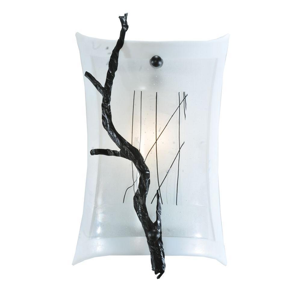 Illumine 1 Light Wall Sconce Fused Glass