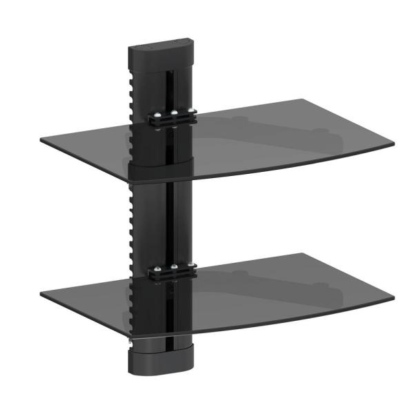 ProMounts Double AV Wall Shelf