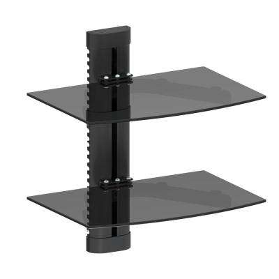 Double AV Wall Shelf