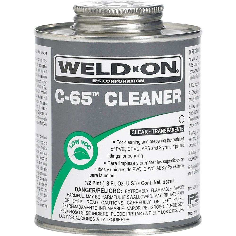 Weld On Pvc Cpvc C65 8 Oz Cleaner Clear 10203 The