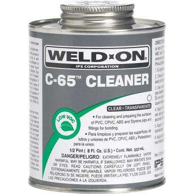 PVC-CPVC C65 8 oz. Cleaner - Clear