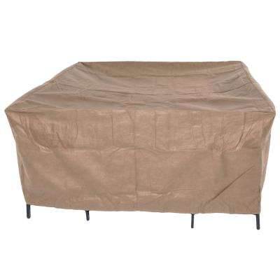 Essential 92 in. Square Patio Table and Chair Set Cover