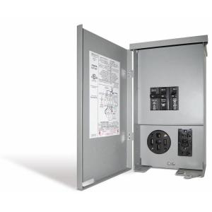 Connecticut Electric 60 Amp Rv Panel Outlet With 50 Amp