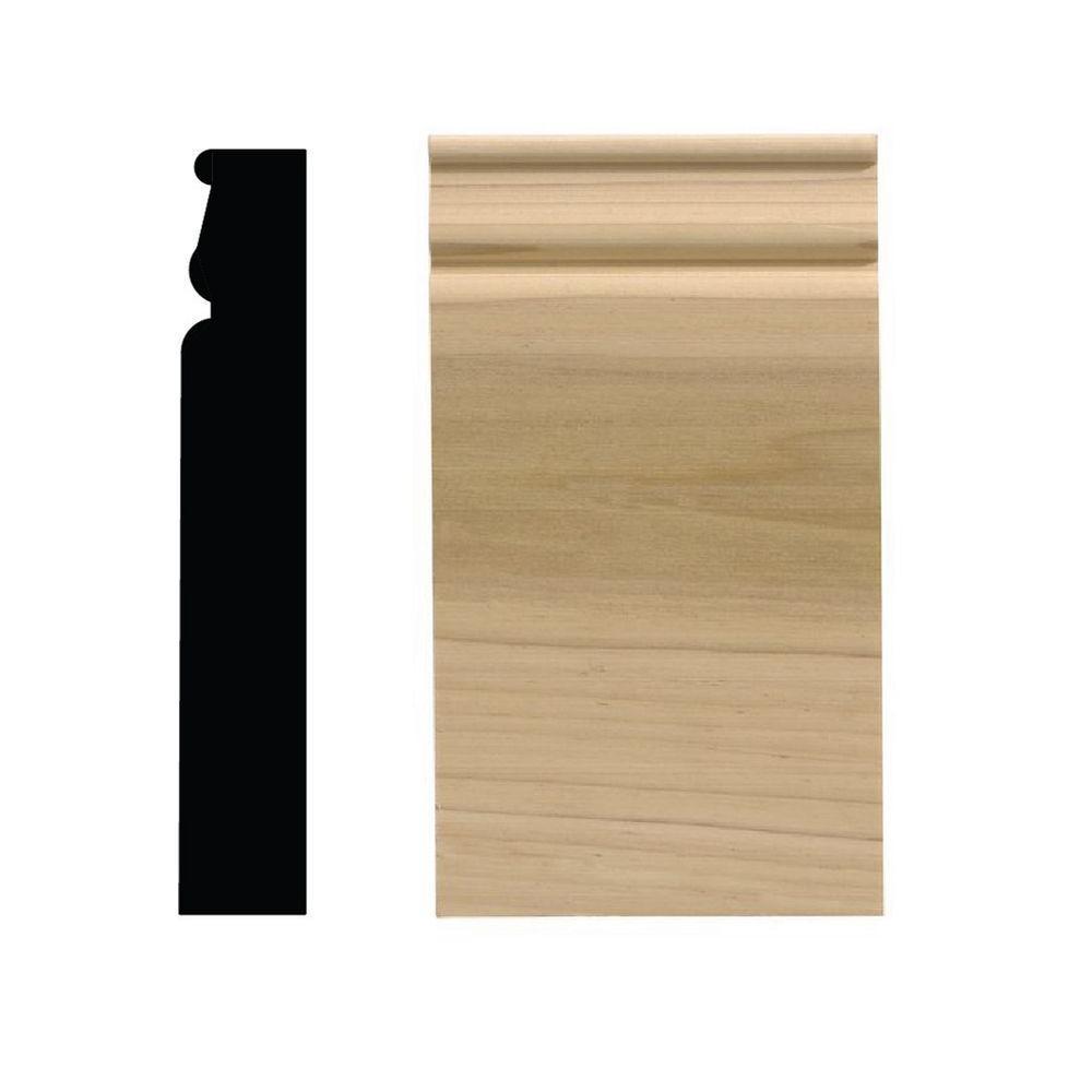 742PB 1-1/16 in. x 3-1/2 in. x 6-1/2 in. Pine Plinth Block Moulding
