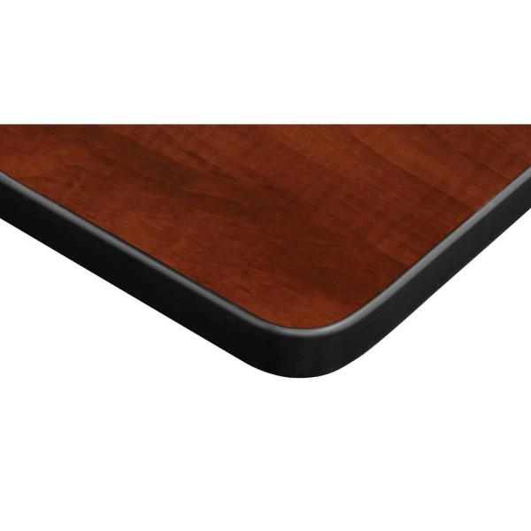 Regency Rumel 42 In X 24 In H Cherry Adjustable Classroom Table Hdr4224chap The Home Depot