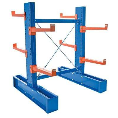 72 in. x 36 in. Double Sided Medium Duty Cantilever Starter Unit