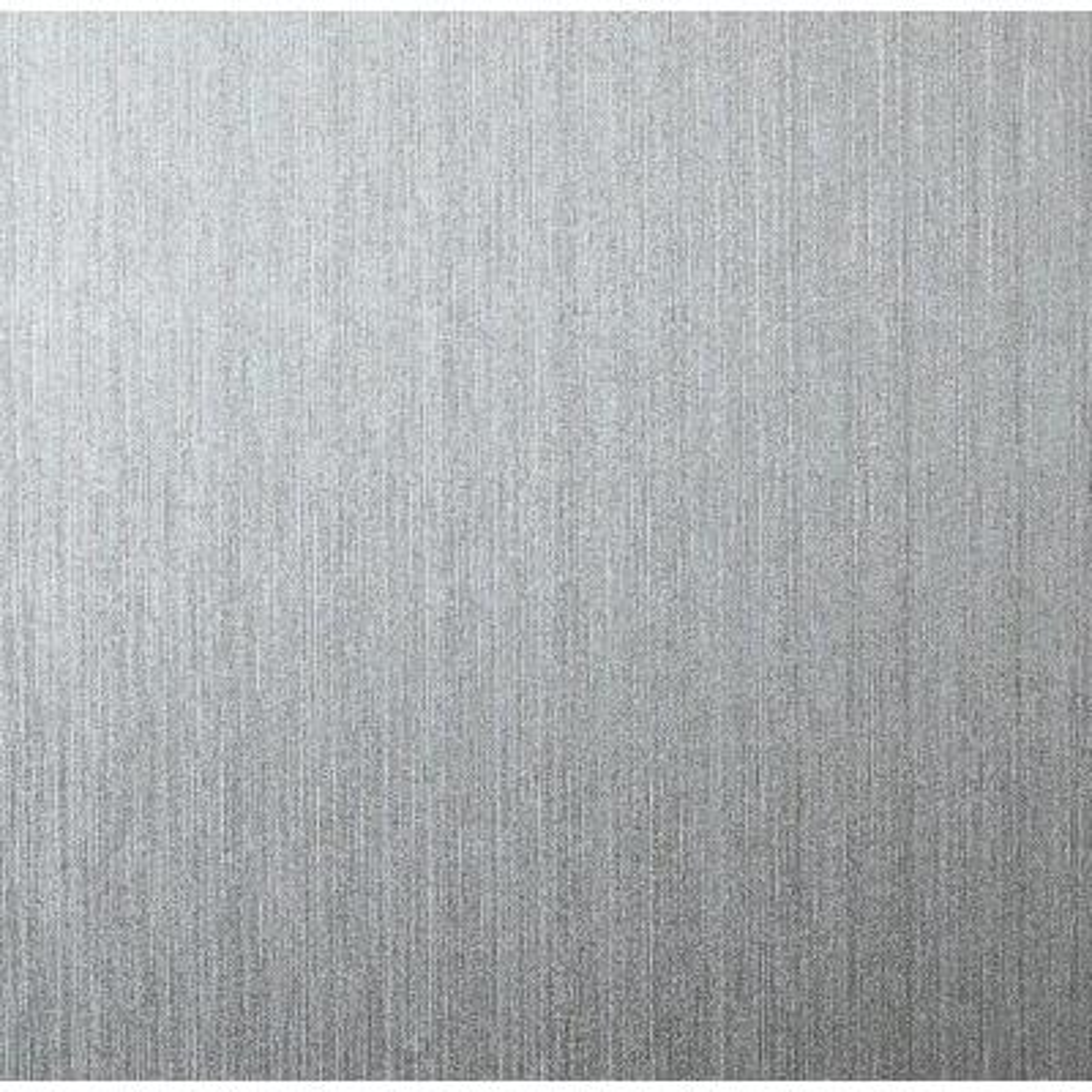 Gianni Plain Foil Silver Vinyl Wallpaper