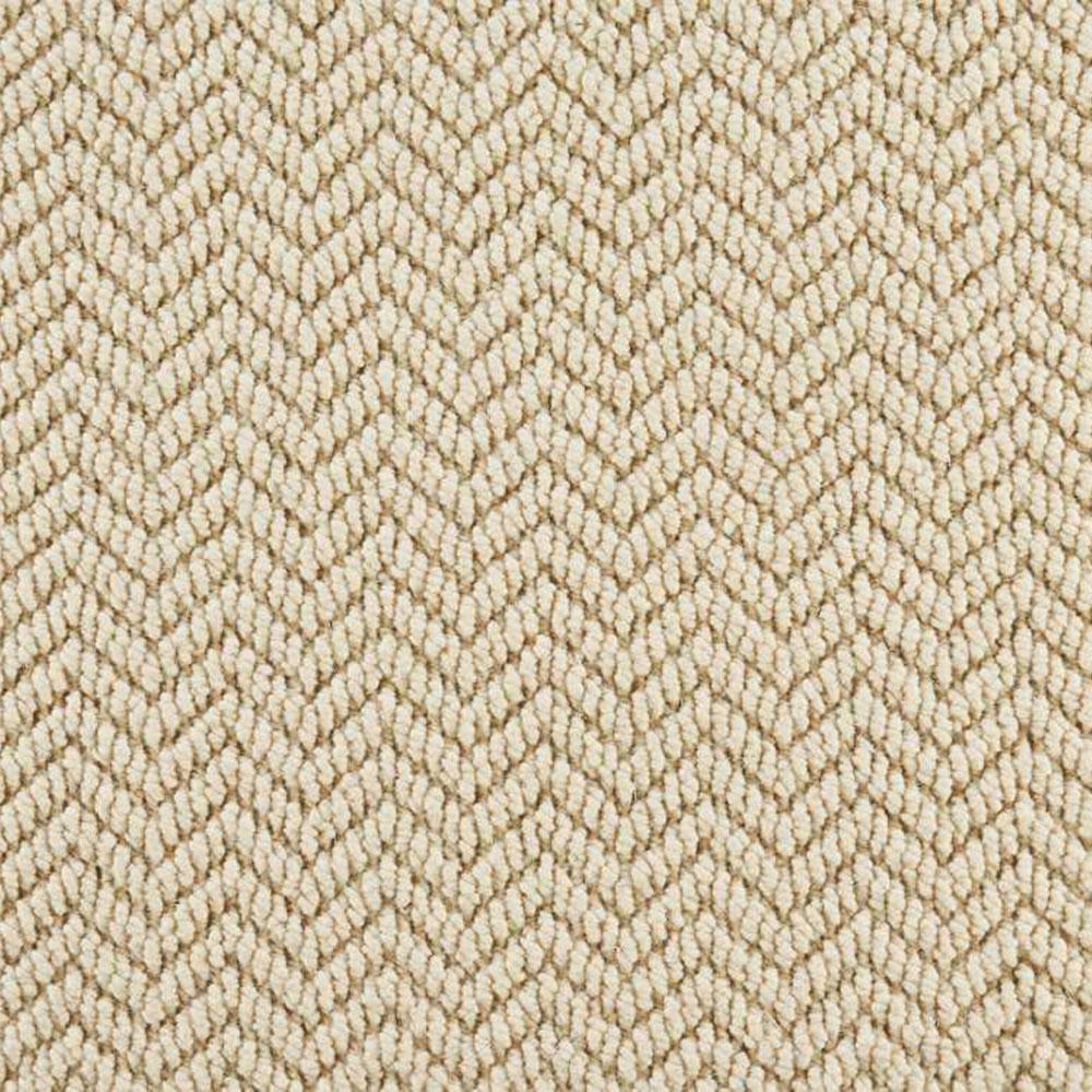 Crescendo - Color Ivory Pattern 13 ft. 2 in. Carpet