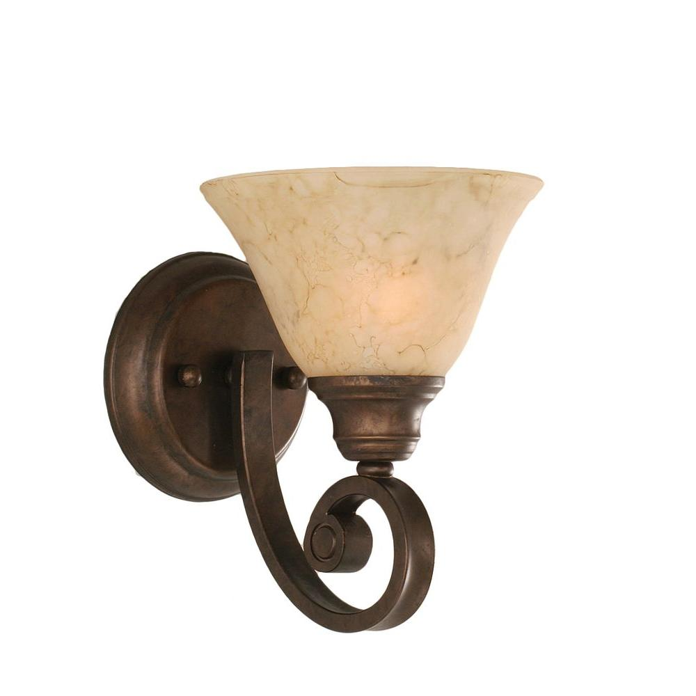 Concord 1 Light Bronze Sconce