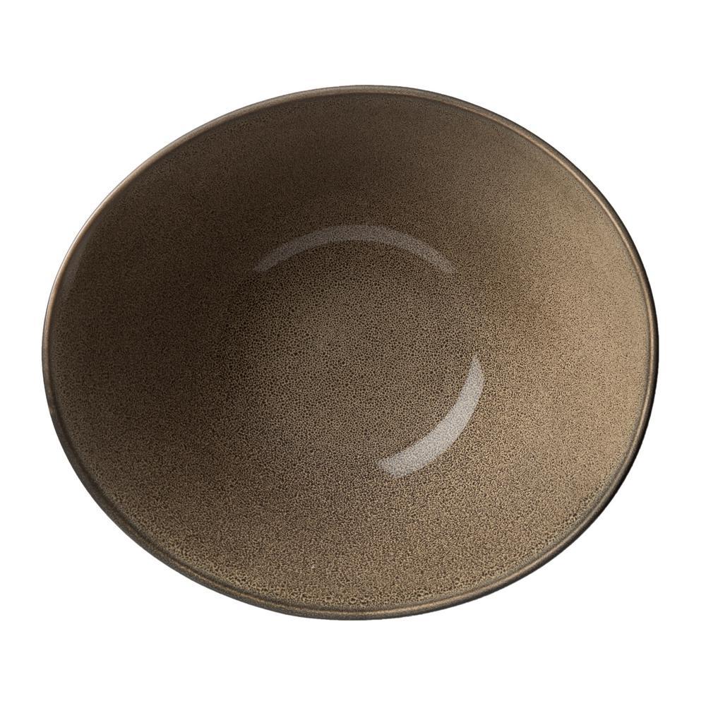 Chestnut Porcelain Soup Bowls 24 oz. (Set of 24)