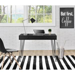 Altra Furniture OWen Black Desk by Altra Furniture