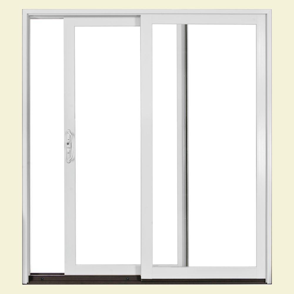 JELD-WEN 72 in. x 80 in. W2500 Series Left-Hand Sliding Patio Door ...