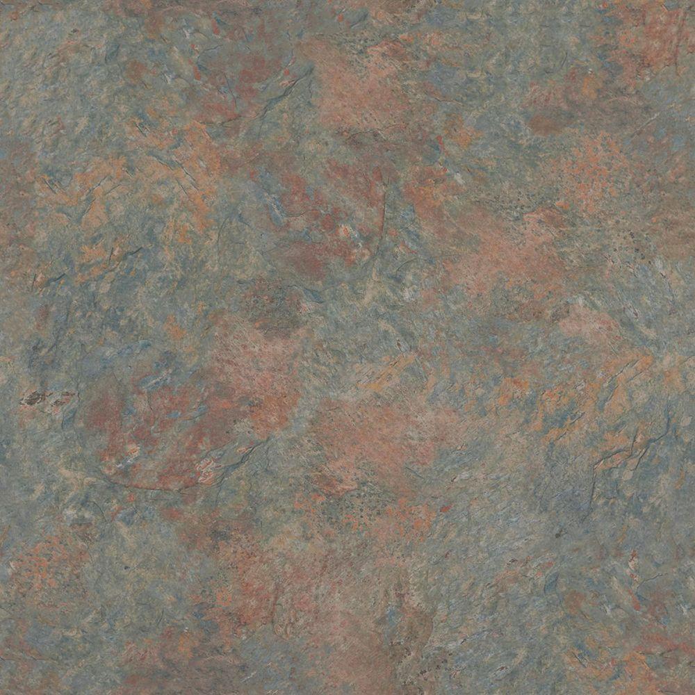 5 in. x 7 in. Laminate Countertop Sample in Colorado Slate