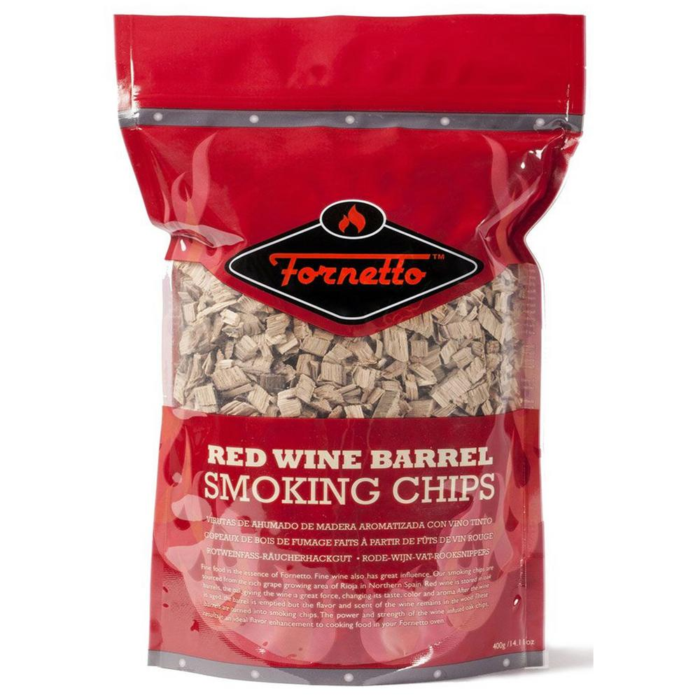 Fornetto oz smoking wood chips red wine bag ah