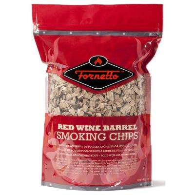 14 oz. Smoking Wood Chips, Red Wine, Bag