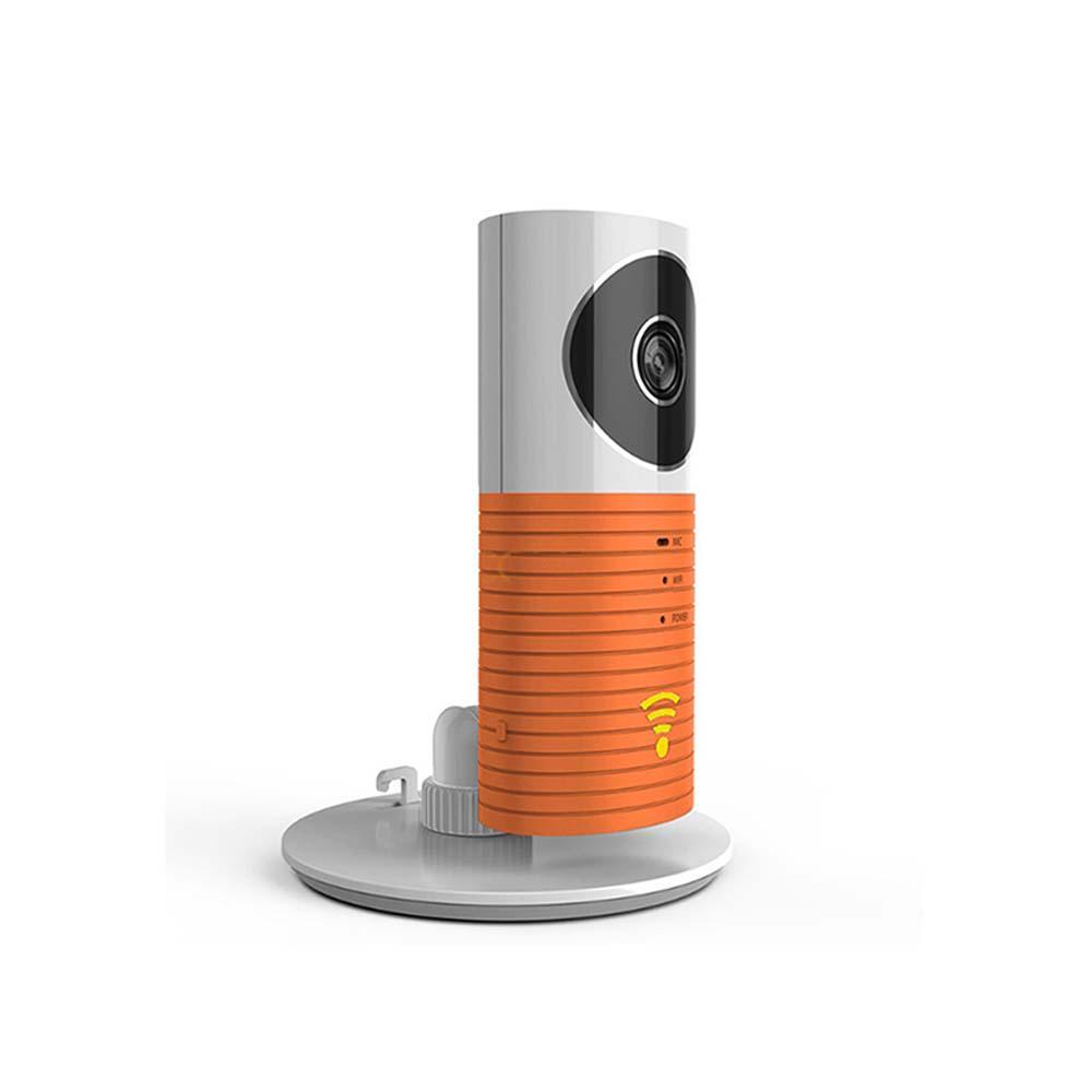 Mini Wi-Fi Wireless Standard Surveillance Camera with Night Vision and Motion Sensor in Orange