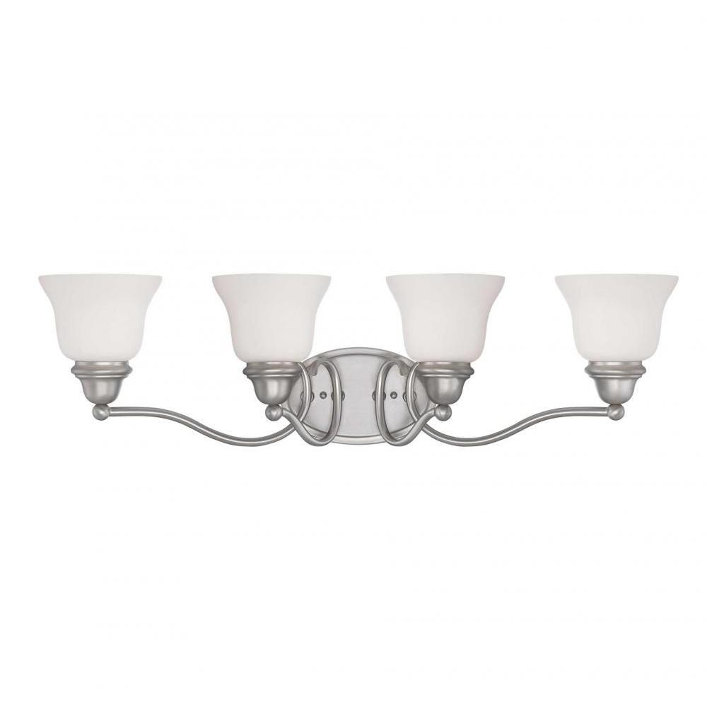 Filament Design Thayne 4-Light Pewter Bath Vanity Light